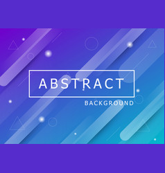 colourful geometric background with dynamic shapes vector image