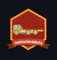 Construction industry design vector