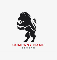 Lion logotype vector