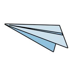 paper plane creativity vector image