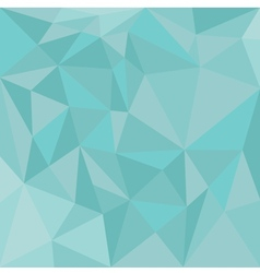 Pastel triangle blue background or mint pattern vector image