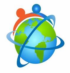 People Around the Globe vector