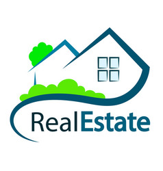 Real estate symbol vector