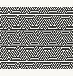 seamless lines pattern modern stylish triangle vector image