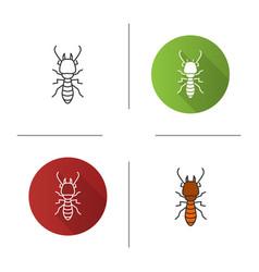 Termite icon vector