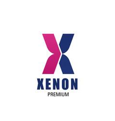 xeno premium icon vector image