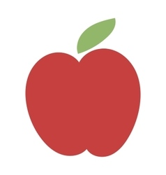 Fresh red apple icon vector image vector image