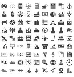 universal icon set 81 icons vector image