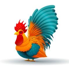 chicken hen vector image