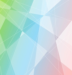 Crystal structure gradient halftone background vector image