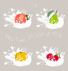 for ripe fruit vector image