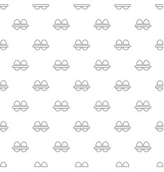 fresh eggs pattern seamless vector image