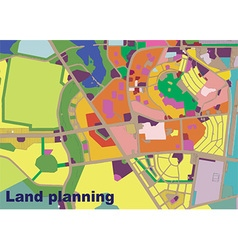 Land planning vector