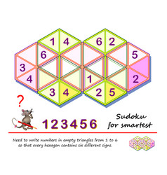 Logic puzzle game for smartest need to write vector