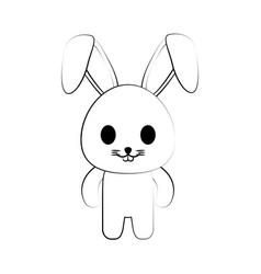 Rabbit ilustration vector
