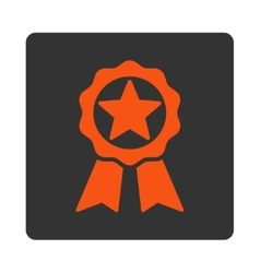 Award icon from Award Buttons OverColor Set vector image