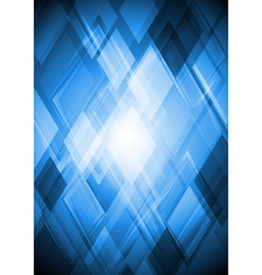 Bright blue design vector image
