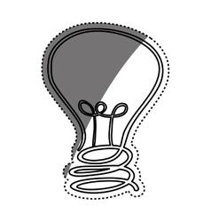 Bulb or big idea vector