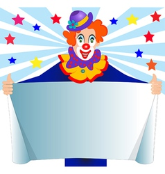 Clown Sign vector