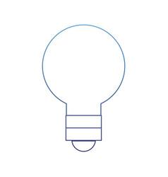 Degraded outline light bulb energy object style vector