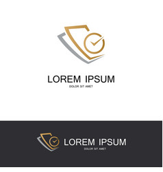paper time business logo vector image