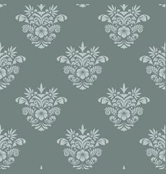 royal seamless background baroque vector image
