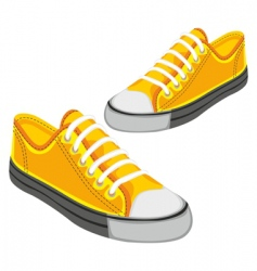 sports shoe vector image vector image