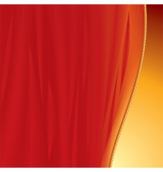 curtains backdrop vector image