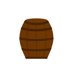 beer barrel icon - isolated on white background vector image