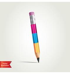 Creative pencil vector