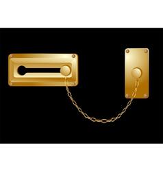 Door lock vector