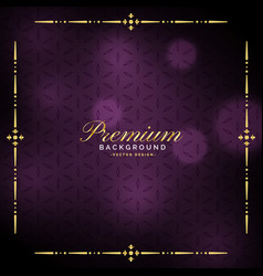 elegant luxury vintage background design vector image