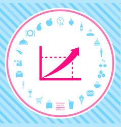graphic icon symbol vector image