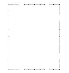 Hand drawn frame decorative elements patterns vector