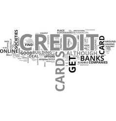 Where can you get a credit card text word cloud vector