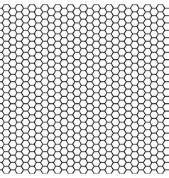 Seamless pattern honeycomb vector image