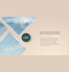 abstract background composition with fluid vector image