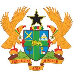 Ghana vector image