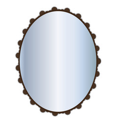 mirror vector image