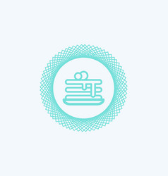pancakes icon sign symbol vector image