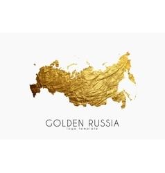 Russia map Russia logo Creative Russia logo vector image