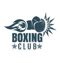 vintage sport emblem vector image