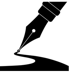 Pen and ink vector