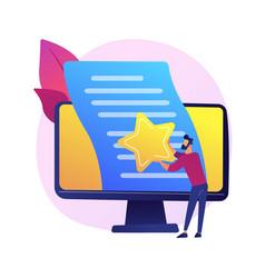 Article evaluation concept metaphor vector