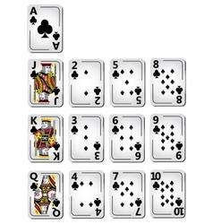 Club Cards full series vector