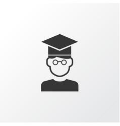 Student icon symbol premium quality isolated vector