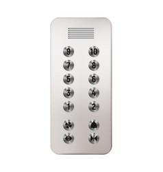 elevator panel vector image