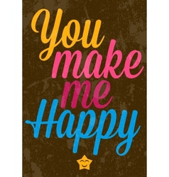 Valentines Day text typography vector image