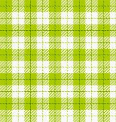 Seamless checkered tablecloth vector image vector image