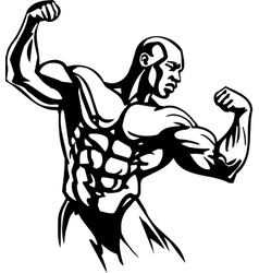 Bodybuilding and Powerlifting vector